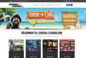Välkommen till Svenska-casinon.com