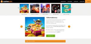 Casino.com välkomst bonus