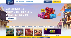 Igame copy cats freespins
