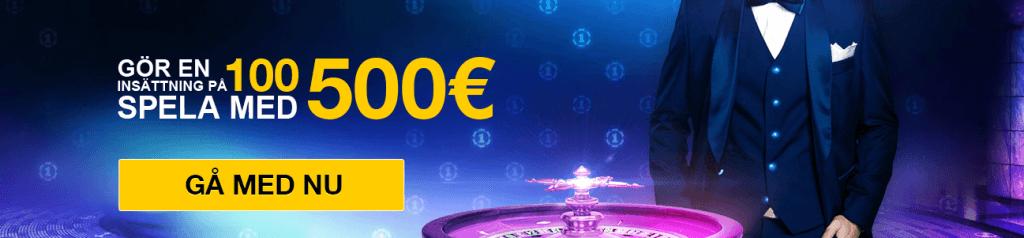 Veckans casino bonus Casino1Club