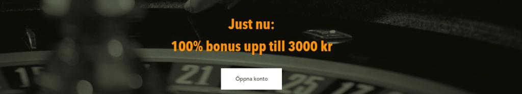 Veckans casino bonus Codeta