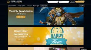 Premier Live Casino kampanjer juni