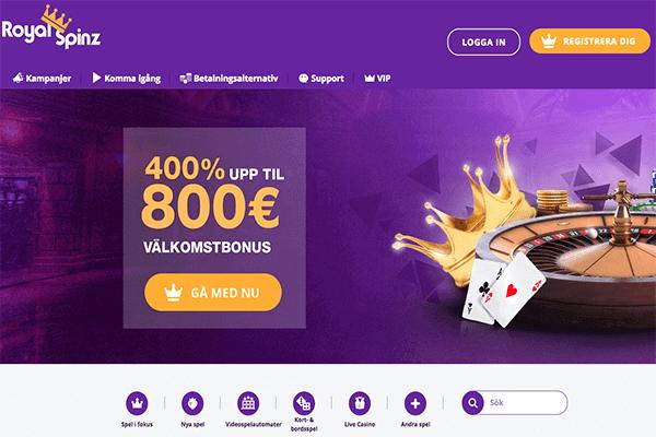 Sveriges nya casinon