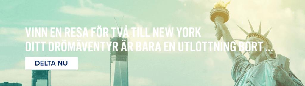 Vinn en New York resa hos Igame