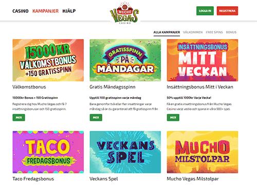 Muchovegas casino bonus