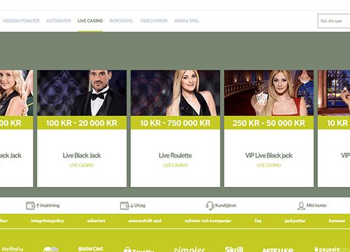 Svedala casino freespins