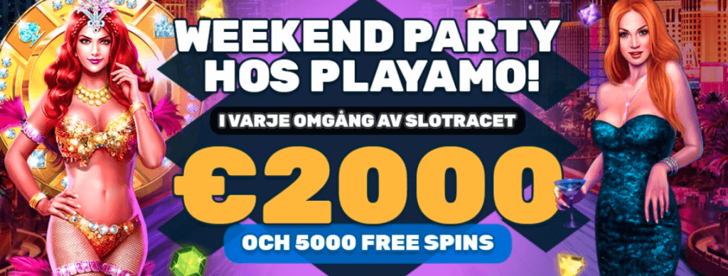 Weekend party hos Playamo
