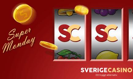 Sverigecasino Supermåndag