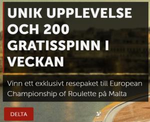Betsafe Vinn en resa för två till Malta