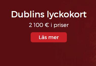 Lucky31 Dublin Lyckokort 2100 €