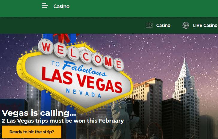 MrGreen Las Vegas Vacation
