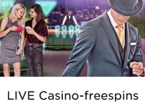MrGreen Live CASINO-Freespins