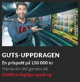 Guts Uppdragen En prispott på 150 000 kr
