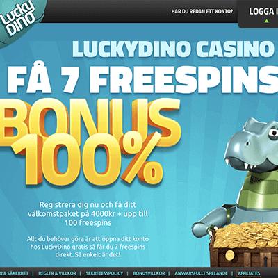 LuckyDino freespins