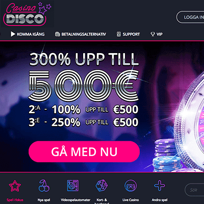 CasinoDisco bonus