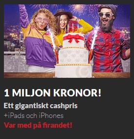 Guts nätcasino 1 miljon kronor!