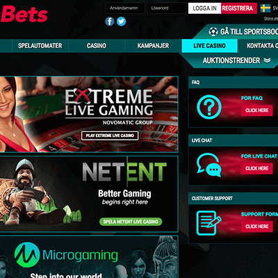 B-bets freespins