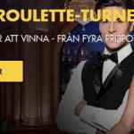 Nätcasino Bethard Live Roulette-turnering 400 000 KR ATT VINNA - FRÅN FYRA PRISPOTTER