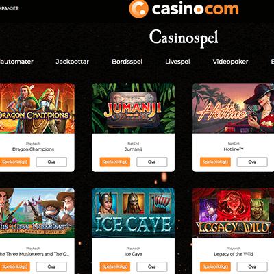 Casino.com freespins