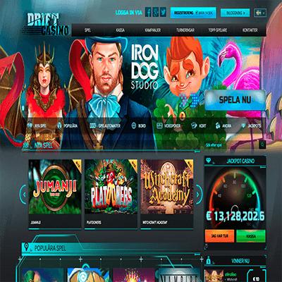 Drift Casino bonus