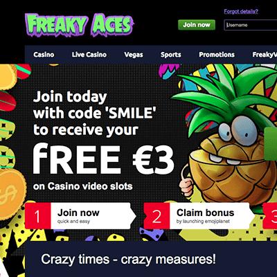 Freaky Aces bonus