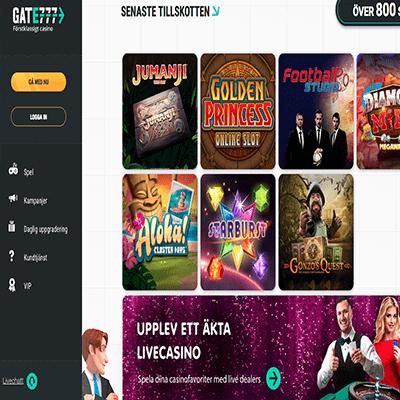 Gate 777 Casino freespins