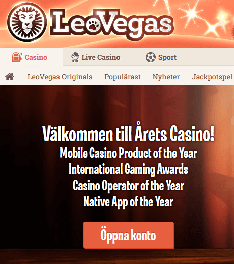 LeoVegas Nätcasino 100 000 kr varje vecka! 2 Veckor Blackjack!
