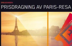 Nätcasino Maria Casino PRISDRAGNING AV PARIS-RESA