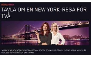 Nätcasino Maria Casino VINN EN NEW YORK RESA FÖR DIG OCH EN VÄN