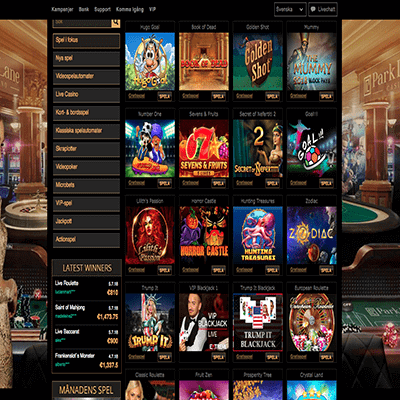 Parklane Casino freespins