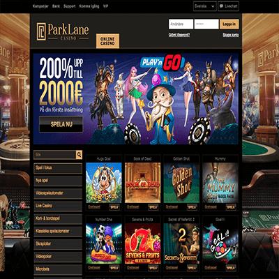 Parklane Casino bonus