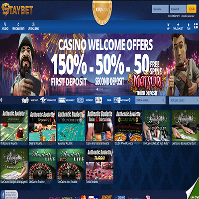 Staybet freespins