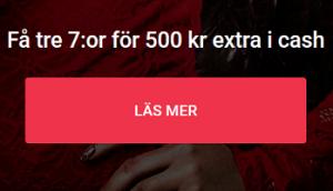 Nätcasino Guts Vinn 500 kr extra i cash varje onsdag i Blackjack Supersjuor!