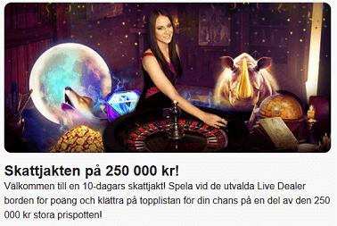 Nätcasino LeoVegas - Da Vincis skatt Skattjakten på 250 000 kr!