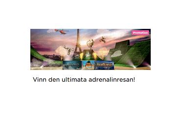 Nätcasino MrGreen - Vinn den ultimata adrenalinresan till Paris och träffa våghalsarna från Nitro Circus!