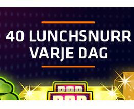 Nätcasino expekt - 40 lunchsnurr till dig! (freespins)