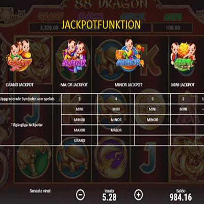 88 Dragon Slot