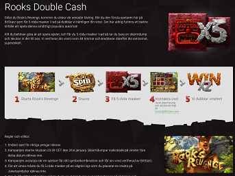 Bitstarz Casino - Rooks Double Cash!