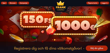 Nätcasino Frank Casino - Happy Halloween med prispool på 15 000 €!