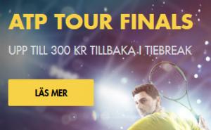 Nätcasino Bethard - ATP Tour Finals - Upp Till 300 Kr Tillbaka i Tiebreak!