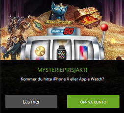 Nätcasino Extraspel - Mysteriejakt - vinn en iPhone X eller en Apple Watch!
