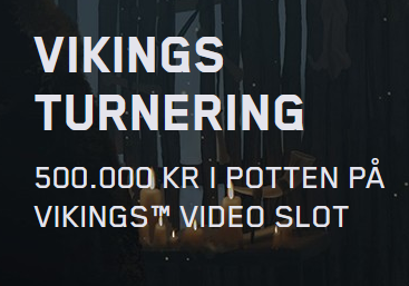 Nätcasino Maria Casino - VIKINGS TURNERING - 500 000 kr i potten på Vikings Video Slot!
