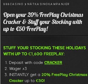Hämta upp till 50 € freeplay varje dag på 888 Casino!