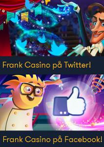 2 Viktiga nyheter om Frank Casino - registrera dig nu!