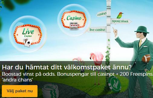 Nätcasino MrGreen - En 2 miljoner kronors cashtornado!