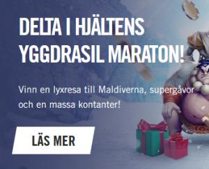 Tävla om 230 000 € i nedräkningen till jullotteriet på Vegashero!