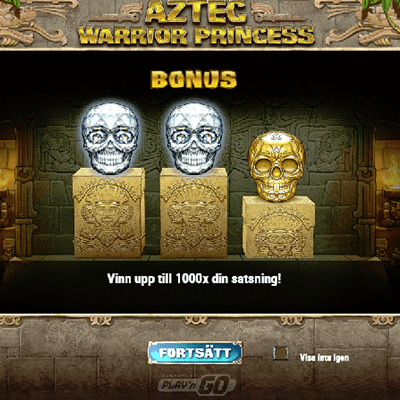 Aztec Warrior Princess Slots