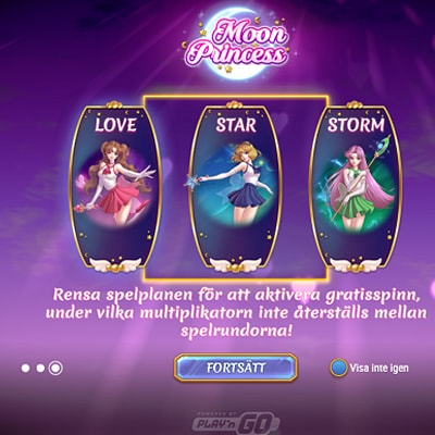 Moon Princess slots