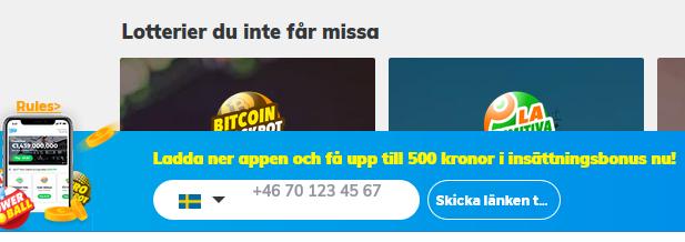 Klicka här och öppna konto på Multilotto så kan du vinna 10 kg guld varje dag!