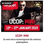 Slutspurten för UCOP: Mini på nätcasino redbet!